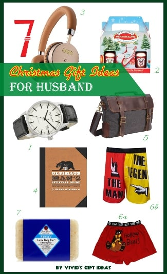 7 Unique Gifts for Husband This Christmas - Vivid's