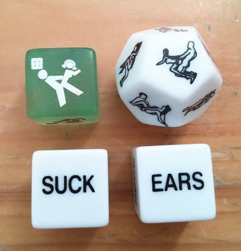 Erotic Adult Dice