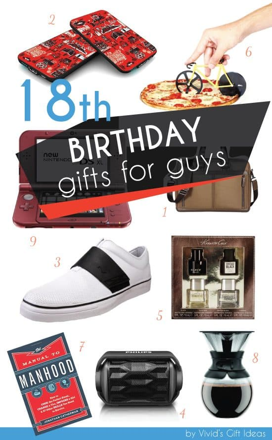 Awesome 18th Birthday Gift Ideas For Guys Vivid 39 S Gift Ideas