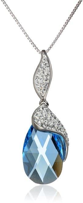 Swarovski Crystal Briolette Pendant Necklace