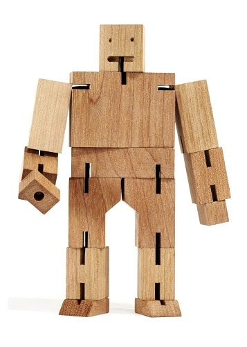 Cubebot Natural Puzzle