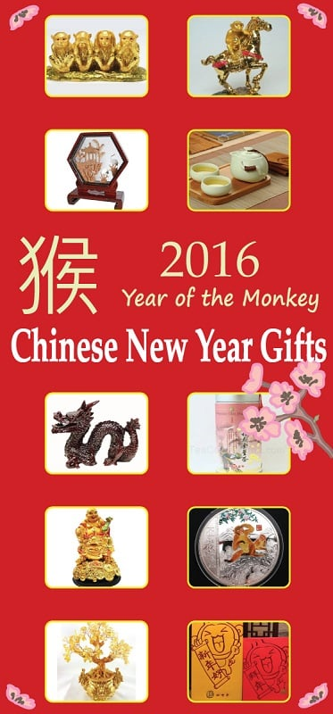 Year of the Monkey Chinese New Year Gifts | VIVID'S