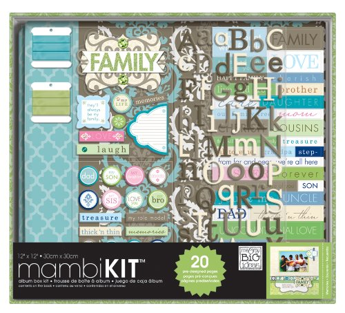 Always My Family Scrapbooking Box Kit
