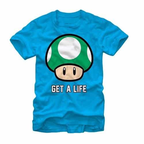 Nintendo Men's Get A Life T-Shirt
