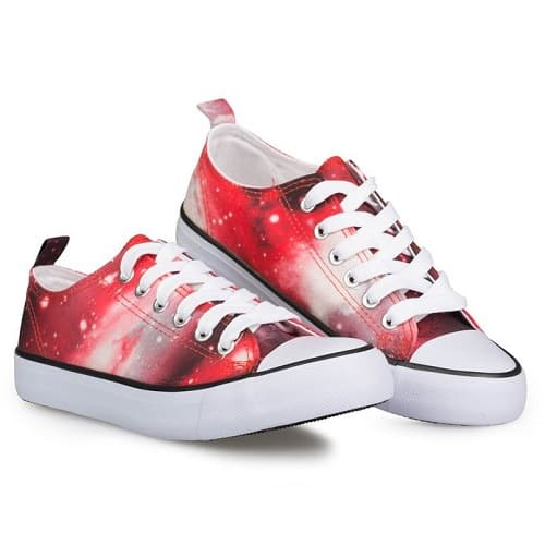 Galaxy Canvas Sneakers
