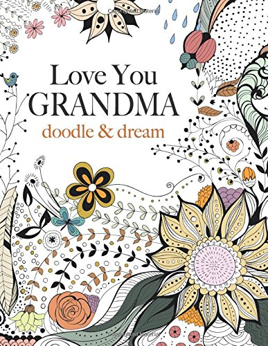 Love You GRANDMA Adult Coloring Book