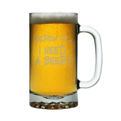 Screw It Funny Beer Mug