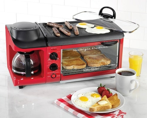 Nostalgia Retro Series 50s Style Breakfast Station