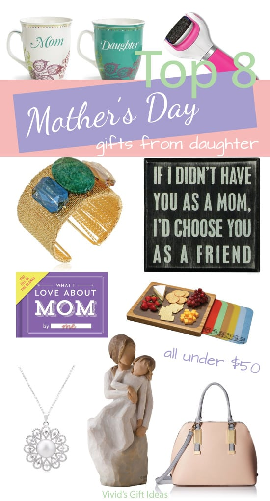 Sentimental Mother's Day Gift Ideas From Daughter