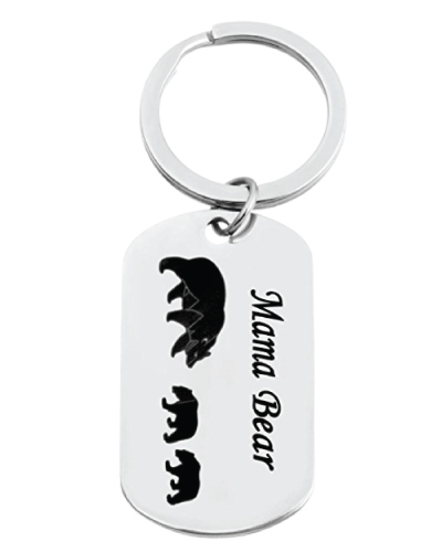 Mama and Little Bear Keychain