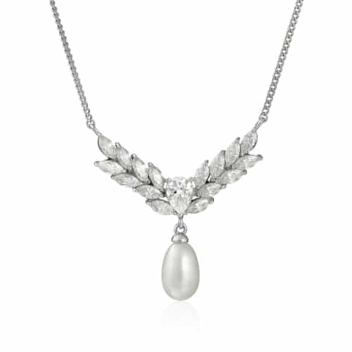 Marquise Pearl Necklace