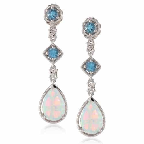 Opal Teardrops Earrings