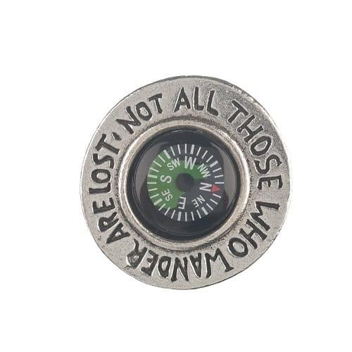 Those Who Wander Pocket Compass