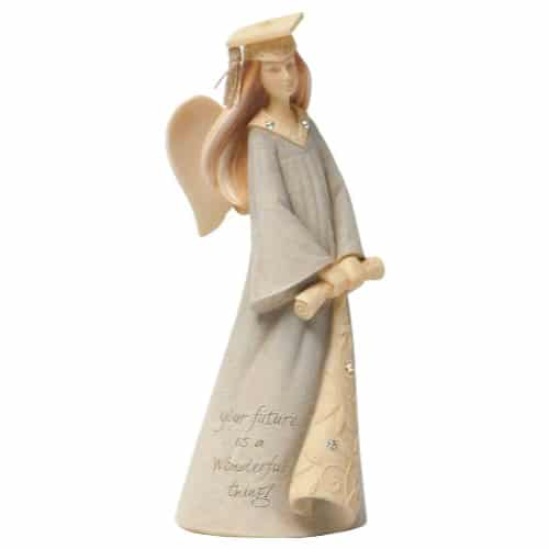 Enesco Foundations Graduation Mini Angel Figurine