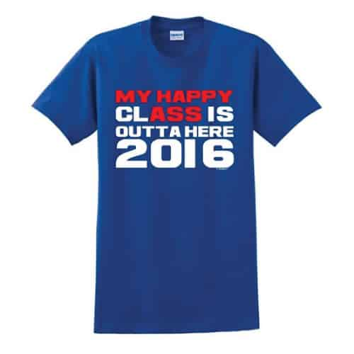 Class of 2016 Funny Graduation Gift T-Shirt