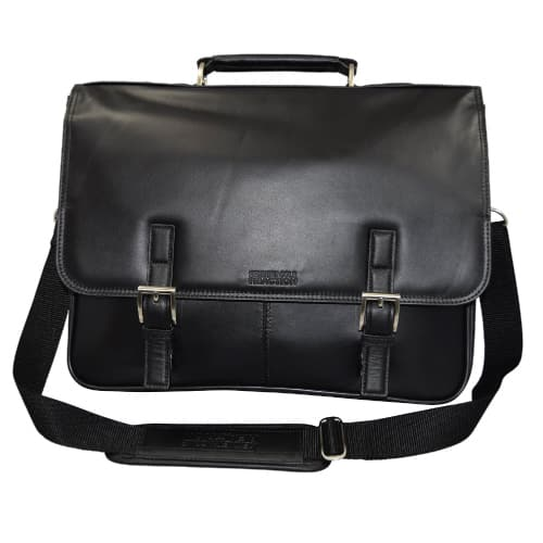 "Kenneth Cole Collection ""A Brief History"" Business Briefcase Bag"