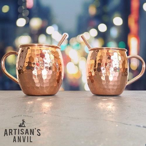 Artisan Handmade Moscow Mule Mugs