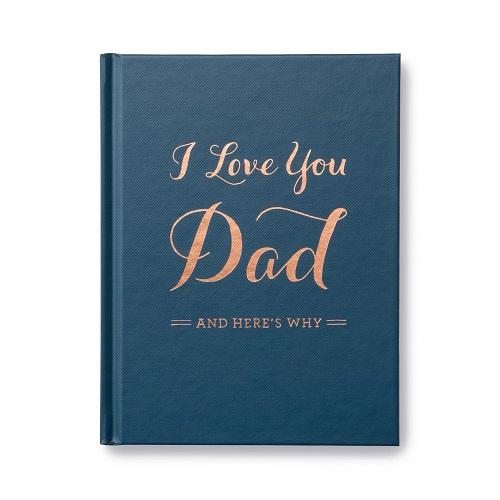 I Love You Dad Keepsake Book