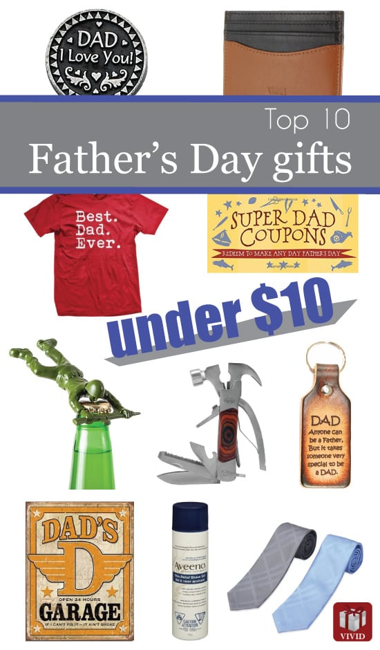 Top 10 Fathers Day Gifts Under $10