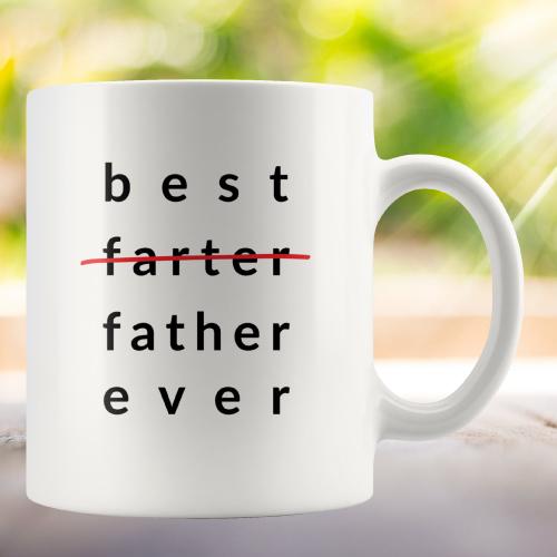 Best Farter Ever Coffee Mug For Dad