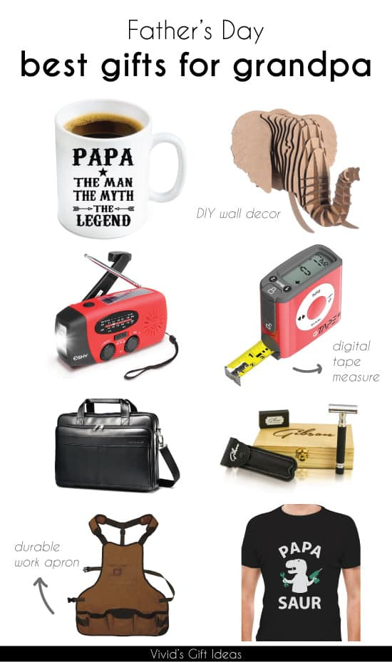 Top 10 Father's Day Gift Ideas for Grandpa