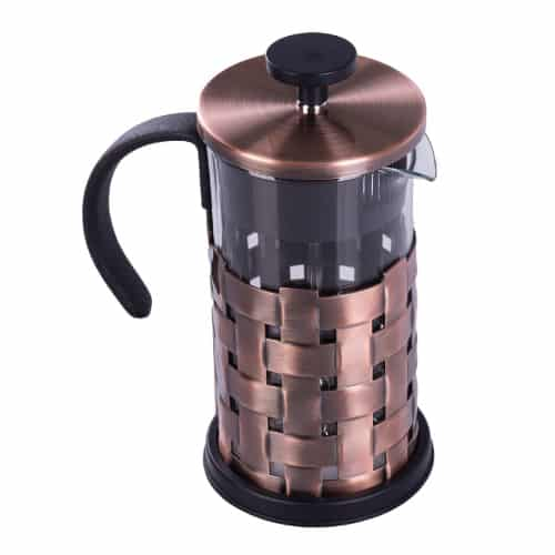 Single Serve Copper French Press