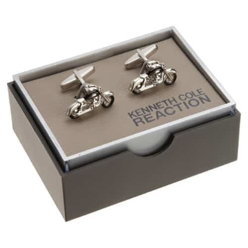 Kenneth Cole REACTION Motorcycle Cufflinks