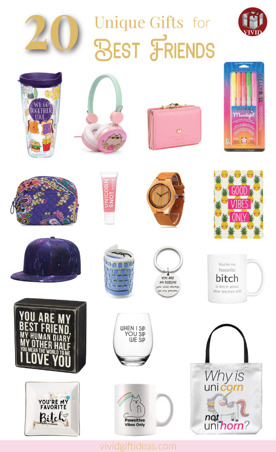 Gifts for best friends (National Best Friends Day)