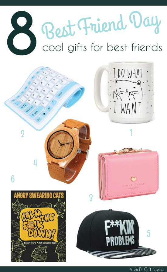 Best Friend Day gifts for best friends