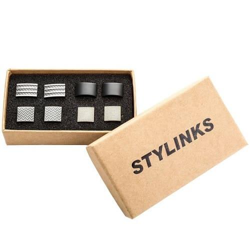 Modern Cufflinks Mix Design Set