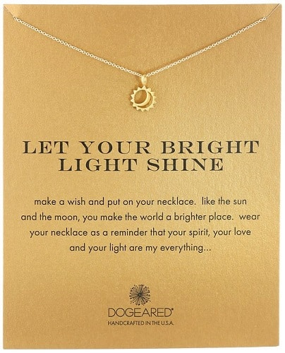 Dogeared Reminder Pendant Necklace