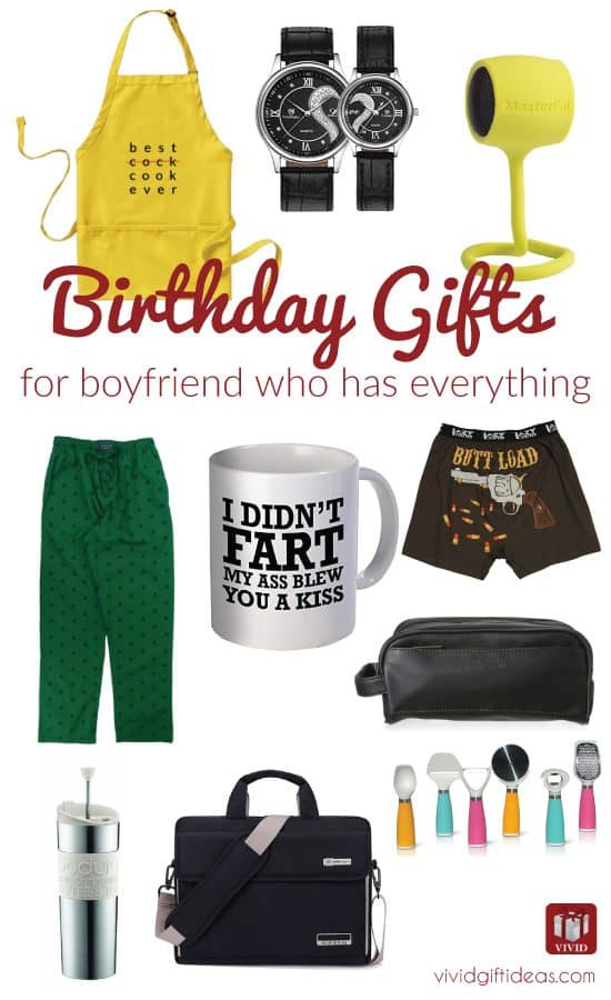 gifts for boyfriend who has everything