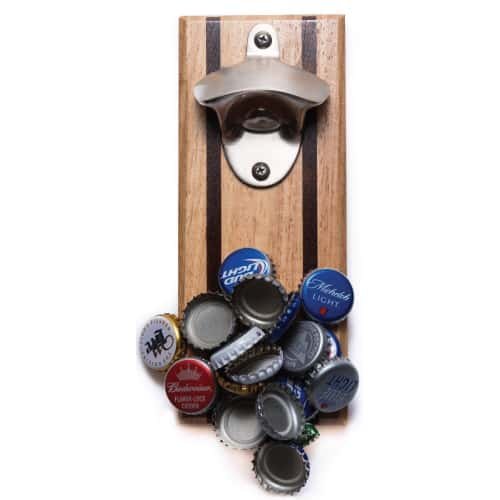 Bruntmor Magnetic Beer Opener & Cap Catcher. Birthday gifts for boyfriend who has everything