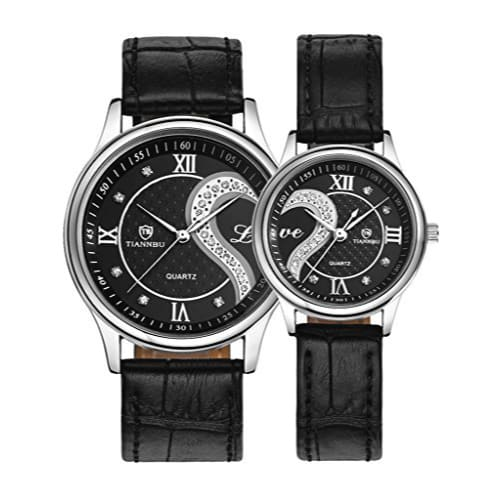Romantic Wrist Watches for Couple (Birthday gifts for boyfriend who has everything)