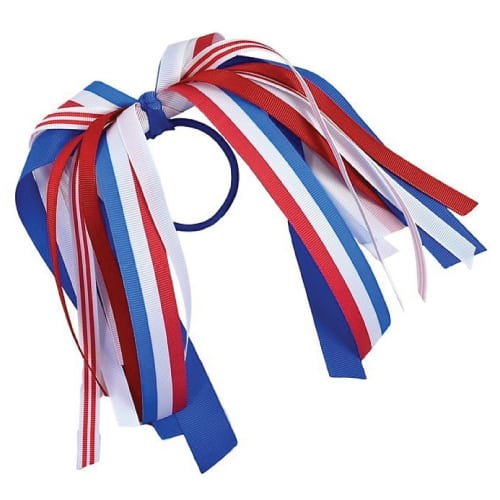 Patriotic Ponytail Hair Ribbon