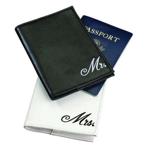 Lillian Rose Mr. and Mrs. Passport Covers