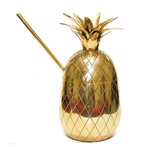 Pineapple Moscow Mule Mug