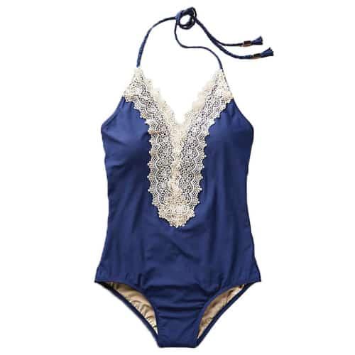 Floral Lace Swimsuit