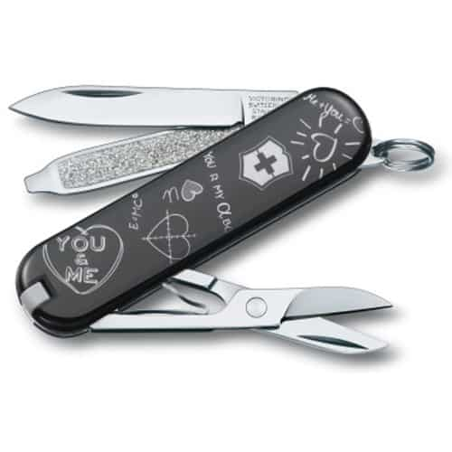 Victorinox Classic Knife- Going to college gift ideas for guys.