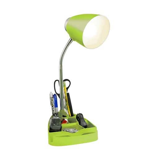 Organizer Desk Lamp. Desk accessories. Dorm room decor. Going to college gift ideas.