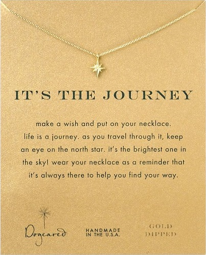 It's The Journey Necklace