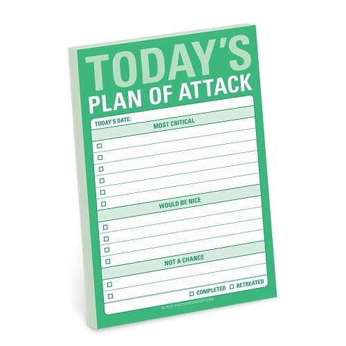 Knock Knock Sticky Note Pad. School supplies college. Going to college gift ideas for guys.