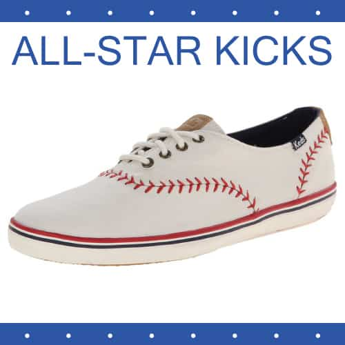 Keds Champion Pennant Baseball Sneaker | College Girl Birthday Gifts