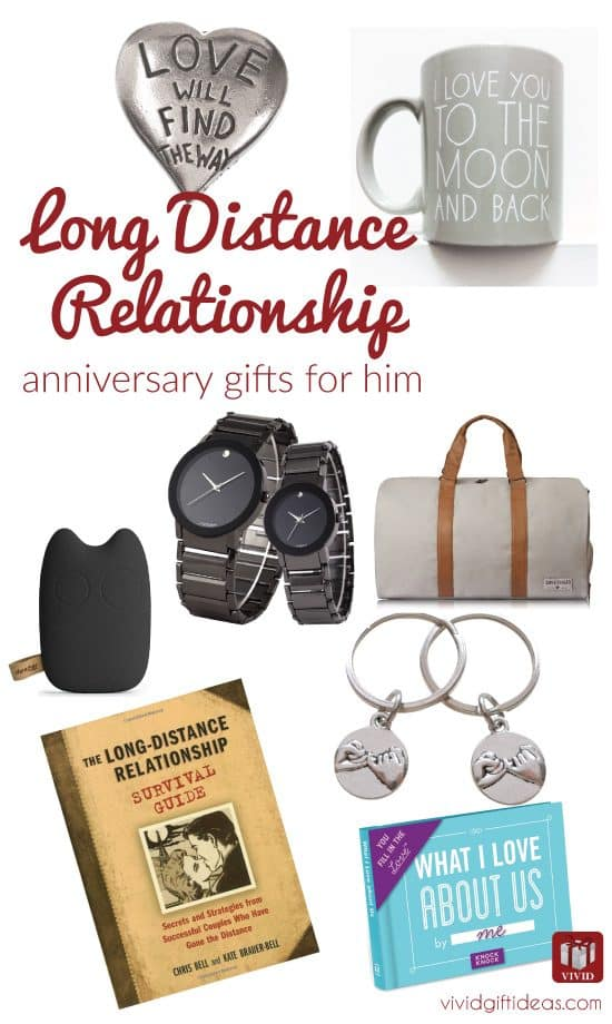 Anniversary gifts for long distance boyfriend