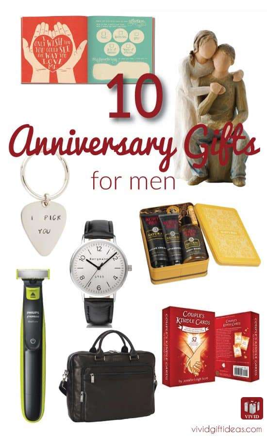 Anniversary Gifts for Men