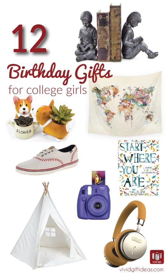 birthday gifts for college students