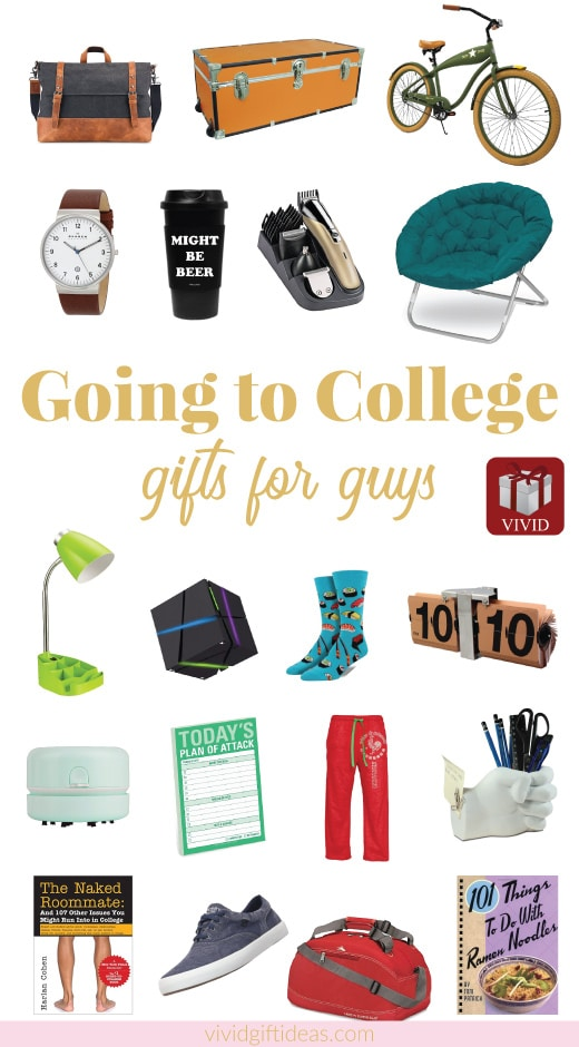 Going to college gifts for guys | Dorm room decor ideas for boys