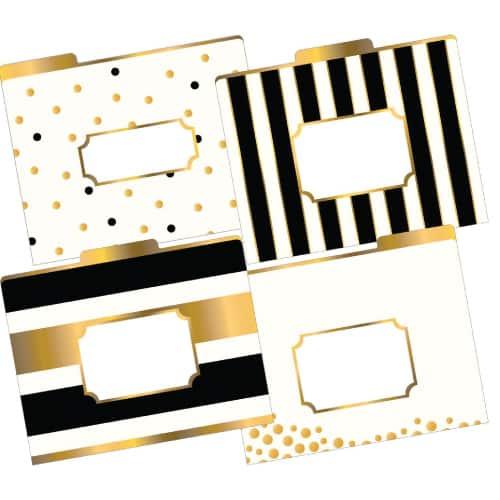Fashionable File Folders (back to school supplies)