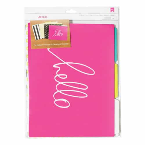Decorative File Folders | Gifts For Girls