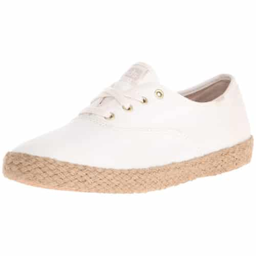 Keds Women's Champion Washed Jute Fashion Sneaker (back to school outfits)